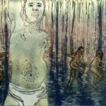 Komea/Handsome, 2004 akvatinta, etsaus/etching, 53x76cm